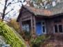 Stary drewniany dom w Kraszewie, gmina Dmosin.
