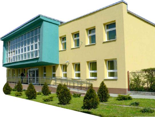 Elewacja budynku Biblioteki (strona wschodnia)