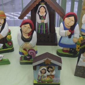 Wystawa rzeźb bożonarodzeniowych