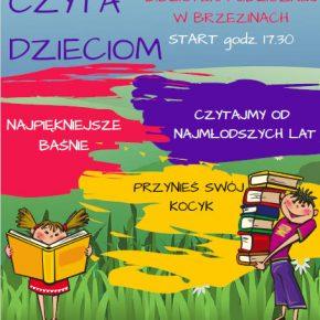 Kolejne spotkanie z serii CPIK czyta dzieciom, tym razem w bibliotece