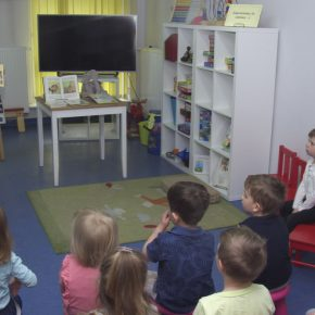 Tydzień Bibliotek w Oddziale dla Dzieci