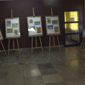 Niezwykła wystawa prac  uczniów ZSS