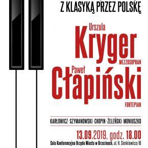 Koncert z cyklu z klasyką przez Polskę