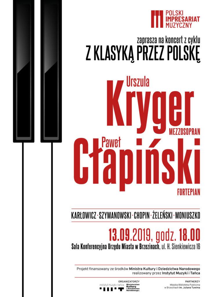afisz brzeziny II 724x1024 - Koncert z cyklu z klasyką przez Polskę