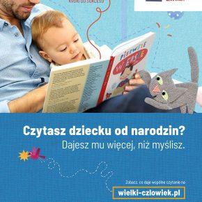 Chcemy promować czytanie rodzinne