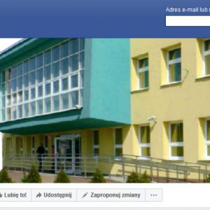 Strona FB naszej placówki