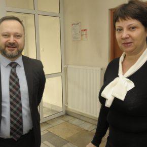 Odwiedziny Dyrektora Biblioteki Narodowej