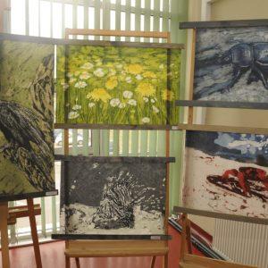 Obrazy woskiem malowane na fotografii