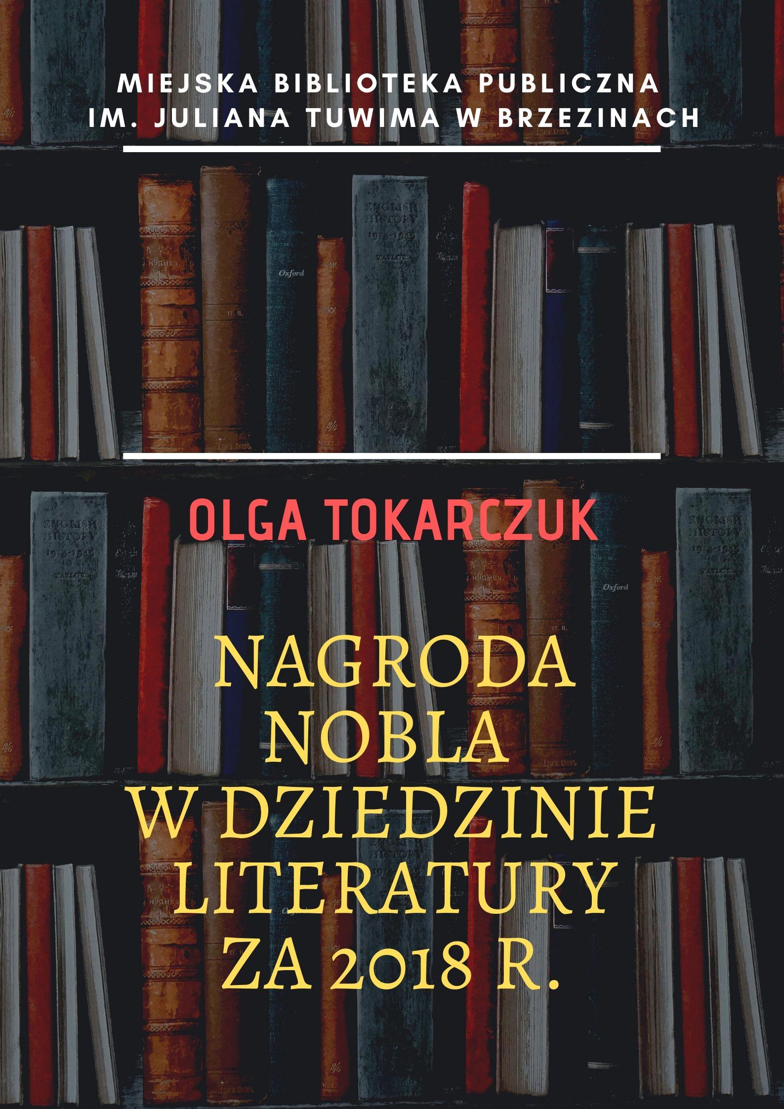 Olga Tokarczuk w brzezińskiej Bibliotece