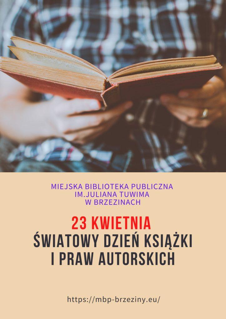 23 kwietnia Światowy Dzień Książki i Praw Autorskich 724x1024 - Światowy Dzień Książki i Praw Autorskich