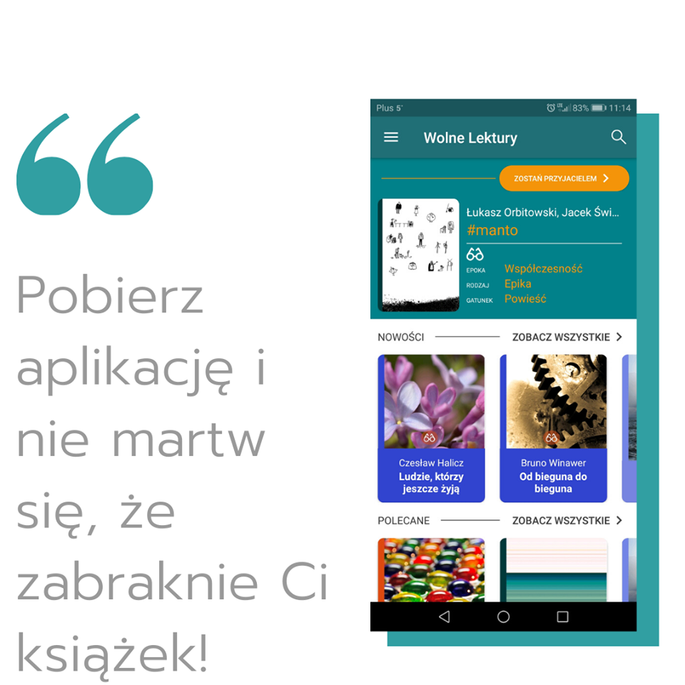 Wolne Lektury - biblioteka internetowa