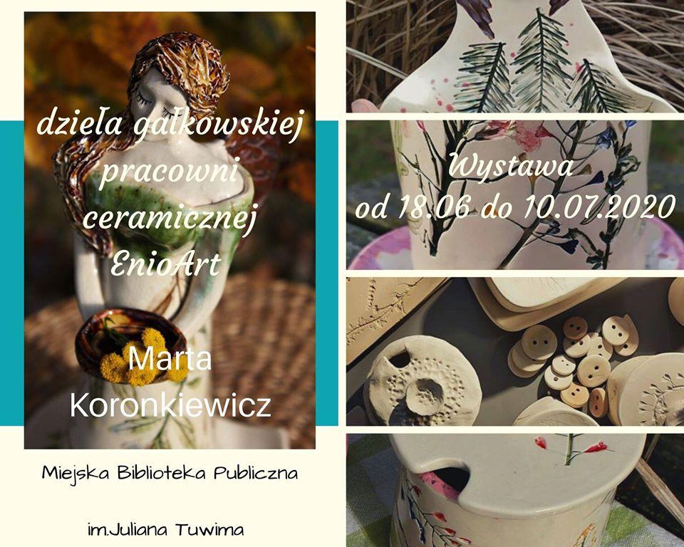 Wystawa ceramiki z Gałkówka