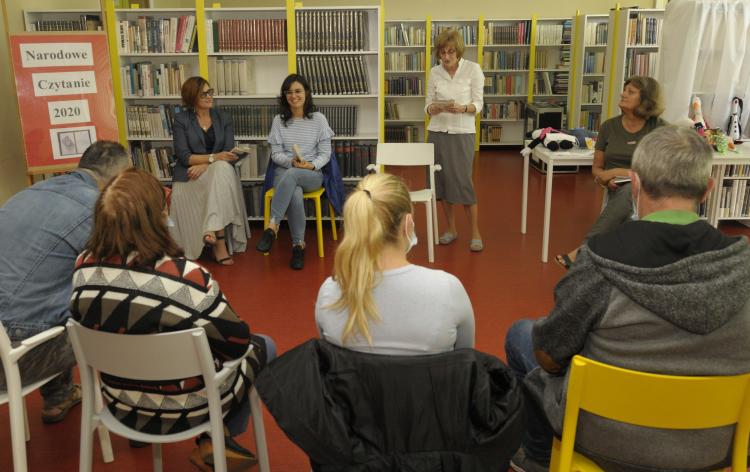 NCZ 01 - Narodowe czytanie w bibliotece
