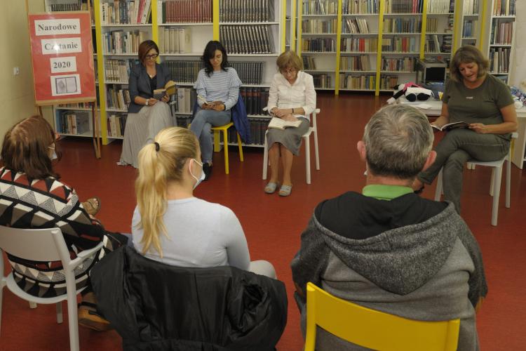 NCZ 03 - Narodowe czytanie w bibliotece