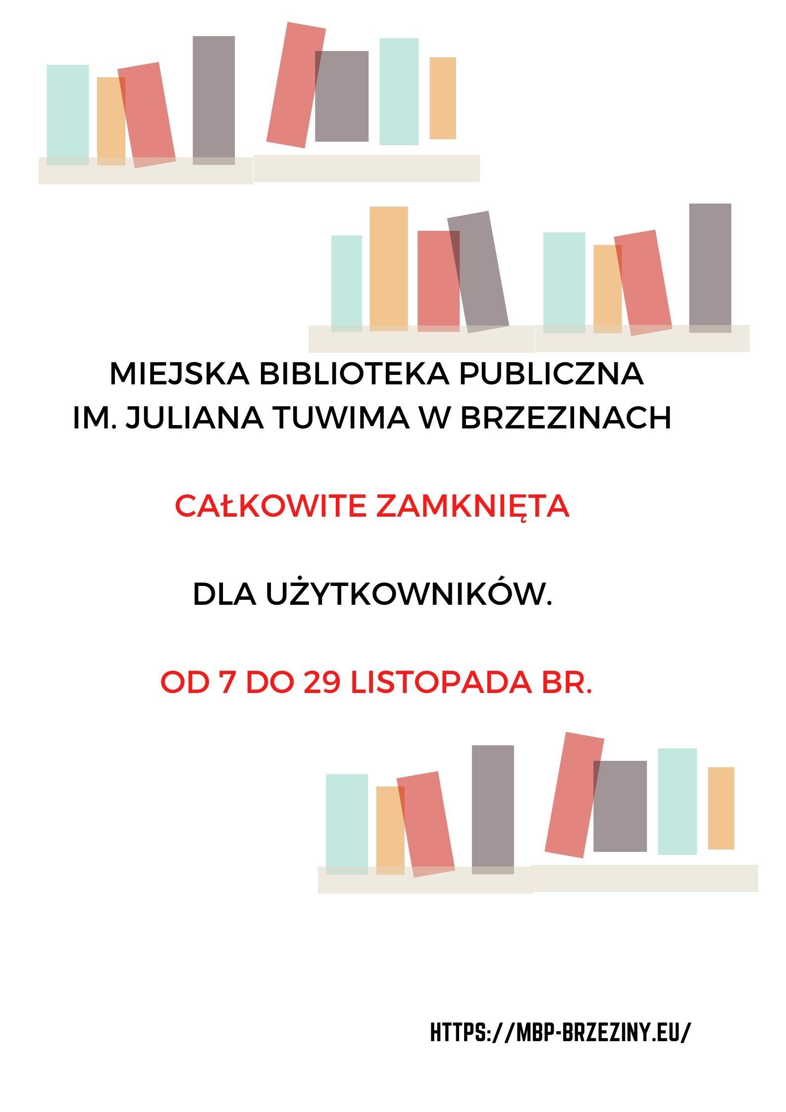 Biblioteka nieczynna
