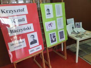 Baczynski wystawa 300x225 - 100. rocznica urodzin Krzysztofa Kamila Baczyńskiego