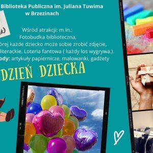 Dzień Dziecka 2021 w Bibliotece