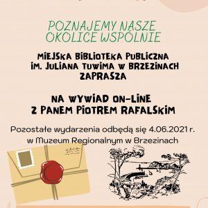 Wywiad on-line z Panem Piotrem Rafalskim