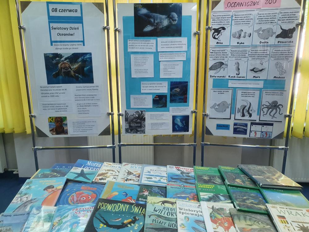 Światowy Dzień Oceanu - wystawa