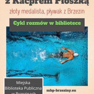 Rozmowa on-line z pływakiem Kacprem Płoszką, złotym medalistą