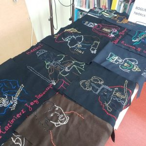 Historyczne hafty Bogumiła Malki
