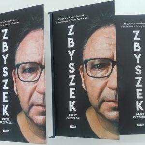 Nowa książka o Zbigniewie Zamachowskim już dostępna w bibliotece